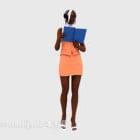 Geschäftsfrauen, die Buchcharakter lesen