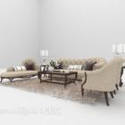 Set completi di divani europei di grandi dimensioni