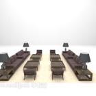 مجموعة أثاث طاولة صوفا
