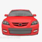 Rotes Mazda Auto