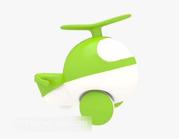 Juguetes de helicóptero de plástico