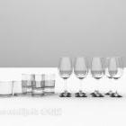 مجموعة زجاج المطبخ