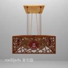 Fancy treskärning ljuskrona möbler