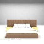 أثاث سرير التنجيد الحديث