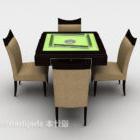 Mahjong Tischstuhl Möbel