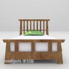 نوع السرير الخشبي المفرد