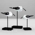 Bird Shaped Sculpture On Stand