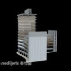 Architektura kompleksu budynków komercyjnych