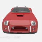 Cabrio Auto rote Farbe