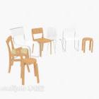حزمة عناصر كرسي الحديثة