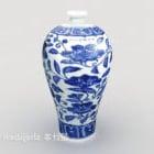 Ancient Chinese Porcelain Vase Ornament