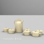 Zestaw naczyń ceramicznych