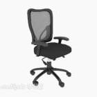 Furniture Net Armrest Office Chair