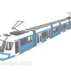 City Subway Train