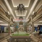 Hala wystawowa Luksusowe wnętrze