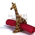Ornamento di giraffa animale africano