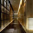 Corridoio di design di lusso interno