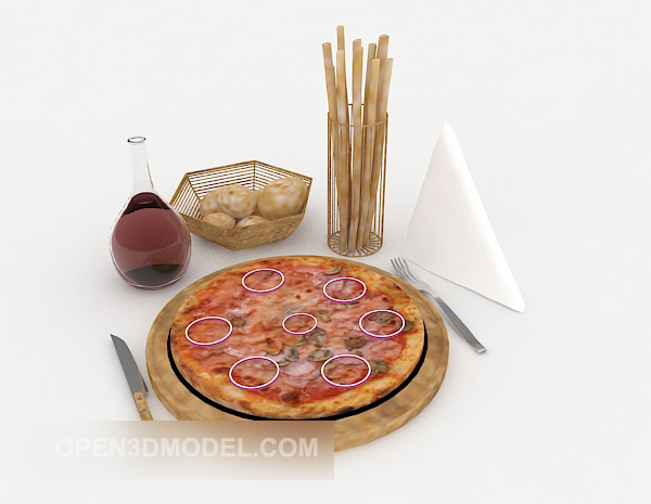 American Pizza Food