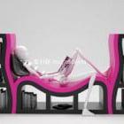 Art Creative Bookshelf Furniture