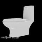 Toalett för badrumspolning