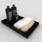 Asciugamani da bagno, Gel doccia