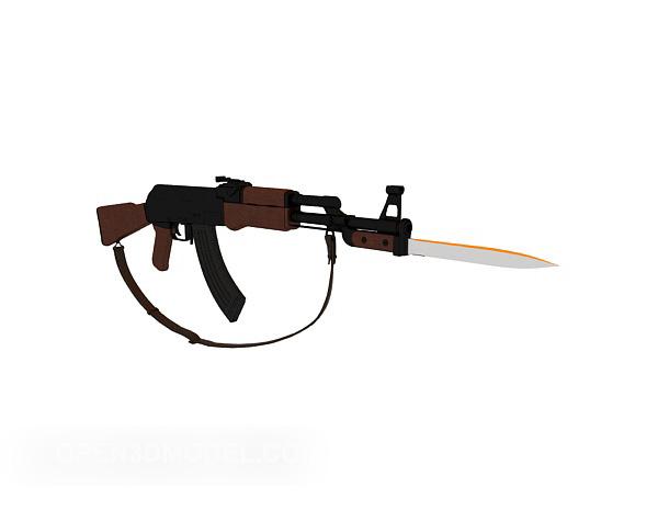 Bayonet Rifle Gun