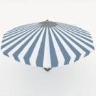 نمط شريط مظلة الشاطئ