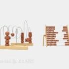 حبة المعداد لعبة طفل الرياضيات