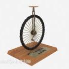 Dekoracje na kółkach rowerowych