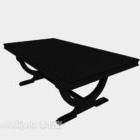 Schwarzer Schreibtisch-Bar-Koffer
