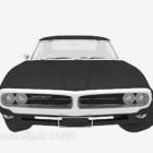 Black Sedan Vintage Vehicle