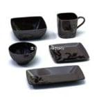 Tea Cup Black Color