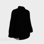黒の長袖服
