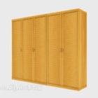 خزانة كبيرة من خشب الصنوبر