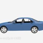 Blue Car Vehicle