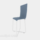 Blue Back-up Lounge Chair