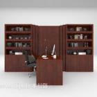 Libreria in legno di grandi dimensioni