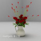 Bouquet Rose Flower Potted