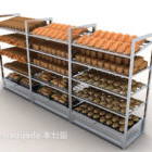 Półka na produkty chlebowe