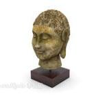 Buddha-Statue aus Messing