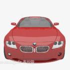 سيارة مطلية باللون الأحمر