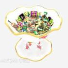 Candy Bouquet Bowl