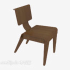 Chinese Back-to-back Low Chair