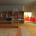 Interiore moderno della mobilia della stanza di studio cinese