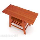 中国の家の無垢材のエッジいくつかの家具