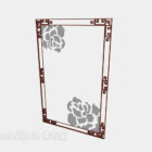 Chinese Patterned Glass Doors Windows V1