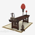 Bar-Schreibtisch im chinesischen Stil