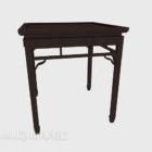 Chinesische Art Fall Tisch aus Holz