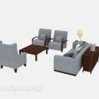 Sofa w stylu chińskim