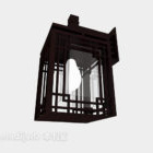 中国風の壁ランプ